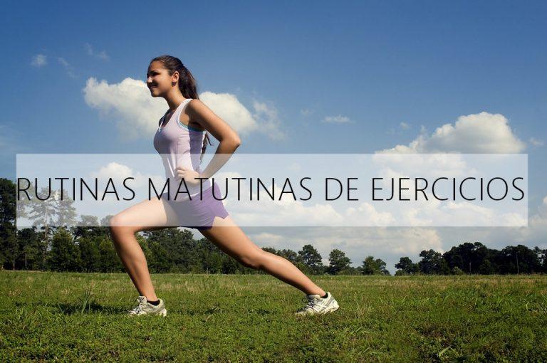 Rutinas matutinas de ejercicios ideales para comenzar